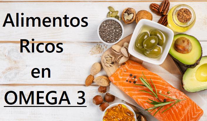 importancia de los alimentos con Omega 3