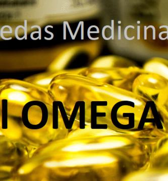 Propiedades medicinales del Omega 3