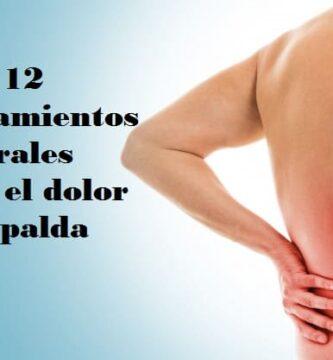 12 tratamientos naturales para el dolor de espalda