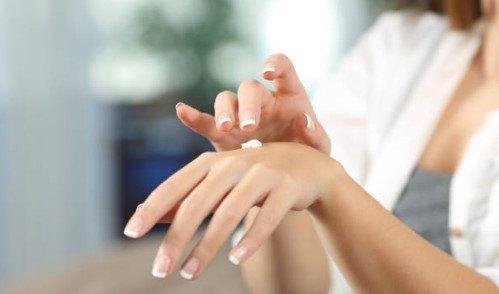 solucion a las manos secas